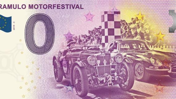 Caramulo Motorfestival lança edição limitada da nota comemorativa