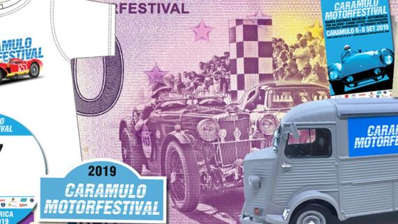 Caramulo Motorfestival lança loja online de merchandise