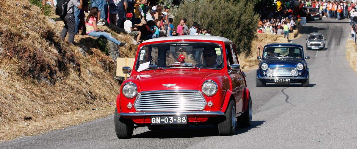 Caramulo Motorfestival celebra 60 anos do Morris Mini