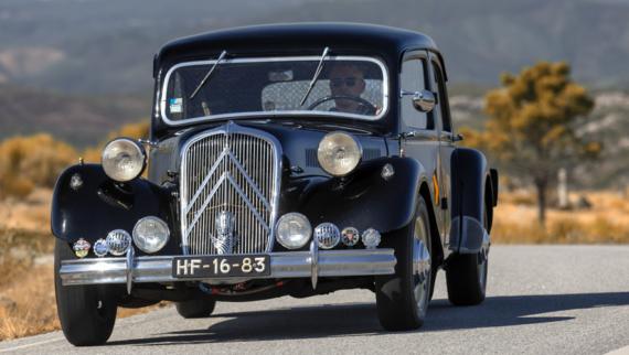 100 anos da Citroën celebrados com passeio até ao Caramulo Motorfestival