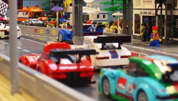 Recrie o Caramulo Motorfestival em Lego e suba a Rampa Histórica Michelin